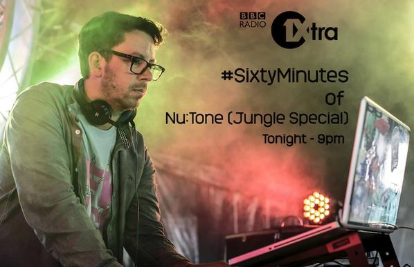 MistaJam 2014-10-20 Sixty Minutes of Jungle from NuTone of Hospital Records
