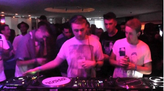 Skream back to back Disclosure - Boiler Room DJ Set at W Hotel London 2012-11-14