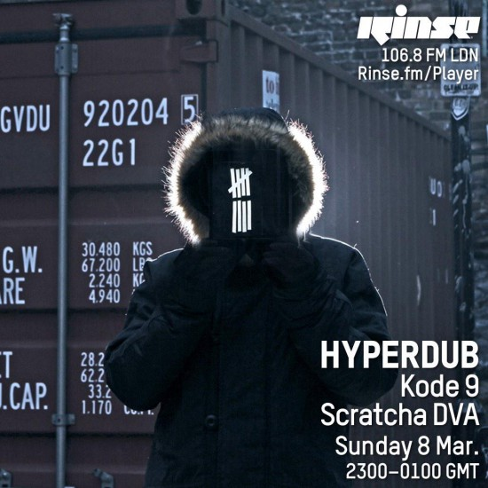 Kode9 and Scratcha DVA - Hyperdub show on Rinse FM 2015-03-08